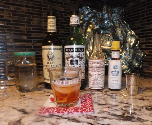 Sazerac Ingredients thek9harperlee