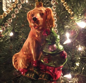 Golden Ornament thek9harperlee