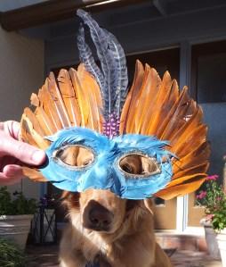 Mardi Gras Mask 1 thek9harperlee