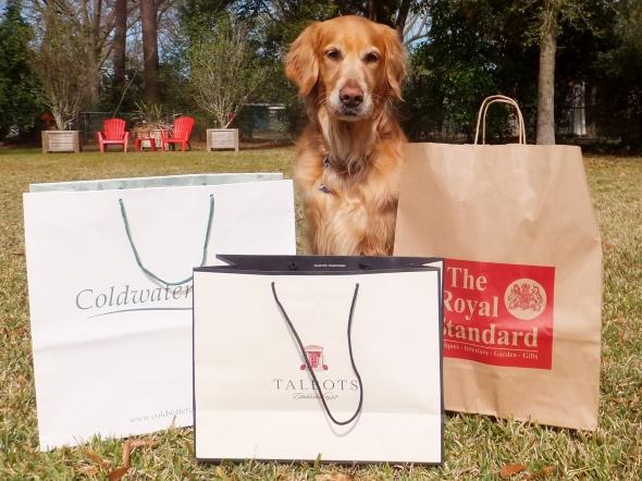 Shopping Dogs 1 thek9harperlee